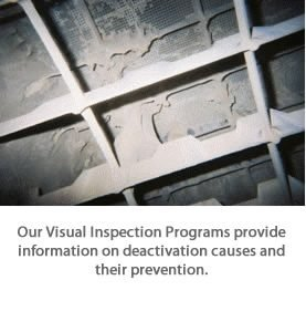Visual Inspections of SCR the Catalyst provide vital information